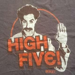 "Borat ""High Five"" ©2007 Twentieth Century Fox Movie Tshirt"