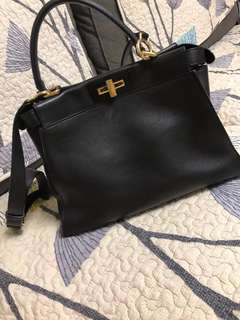 a4363f5cbc4b Fendi Peekaboo Black Regular