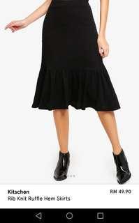Kitchen knitted skirt