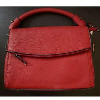 Red Shoulder Bag w/ Sling