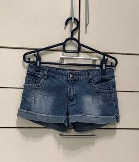 X-eight denim shorts