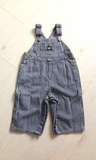 Brand New Oshkosh Striped Overall for Babies