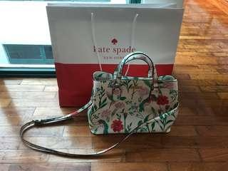 Authentic brand new unused Kate Spade 2 way handbag
