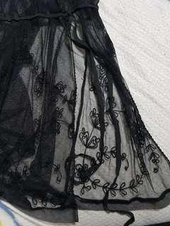 Victoria secret black lingerie tank top