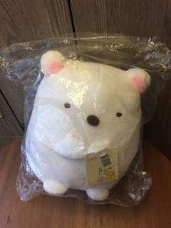 🚚 角落生物 白熊 玩偶 療癒 10英吋 全新