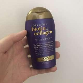 OGX Thick and Full Biotin & Collagen Shampoo Travel Sized 88.7ml