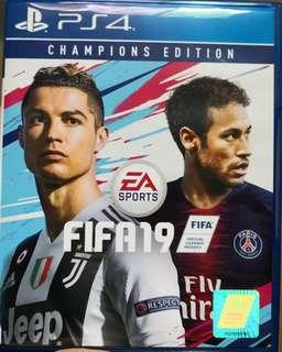 SONY PLAYSTATION 4 (PS4) GAME: FIFA 19 CHAMPIONS EDITION CODES UNREDEEMED
