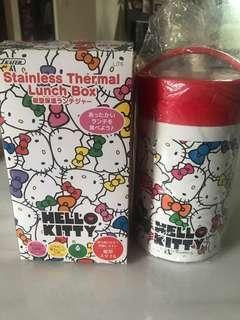 🚚 Hello Kitty sanrio lunch bag stainless insulated food jar