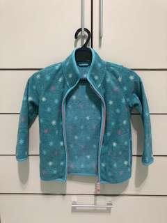 Uniqlo thick blue jacket