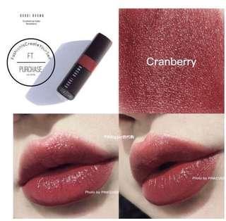🚚 (已售)BOBBI BROWN迷戀親吻唇膏 cranberry