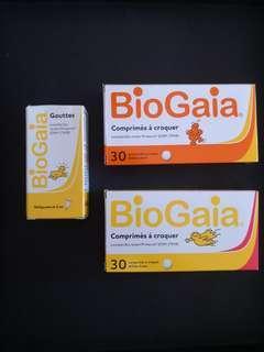 🚚 BioGaia Probiotic Tablet (Lemon/Strawberry) & Drop