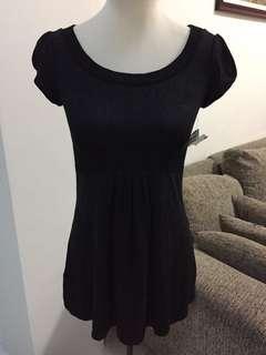 Black Stretch blouse