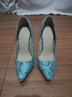 Blue Parisian High Heels