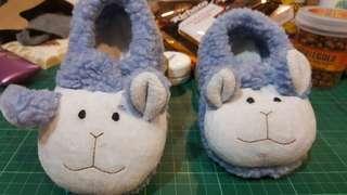 Baby lamb slippers