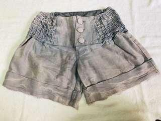 Cocoa brown shorts - small