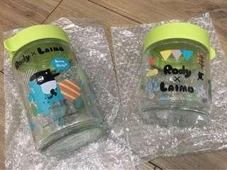🚚 🆕RODY X LAIMO玻璃收納罐 (2入/組) 《限量商品》