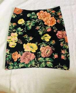 Floral skirt - small