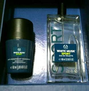 [SALE] NEW Body Shop White Musk Sport Package