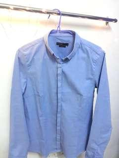 Blue Padini Formal Shirt