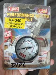 Performance Tire gauge TG 1 1/2