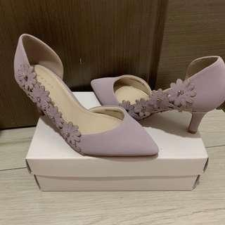 Randa粉紫色3吋高跟鞋