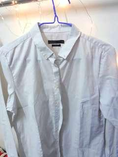 White Padini Formal Shirt