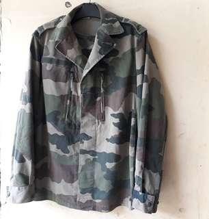 The SOCOVET Parka Camo France Military Jacket