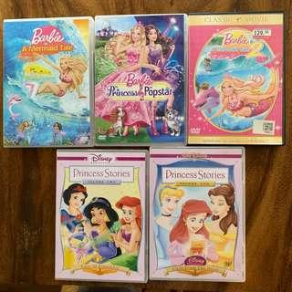 Barbie Mermaid Princess Stories Movie