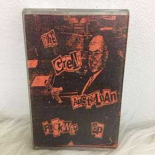 Kaset Cassette Australian fuckwit EP