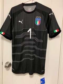 2018年意大利🇮🇹L Size連盪字Buffon(未剪牌) - BNWT