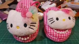 Original hello Kitty slippers for baby brand new