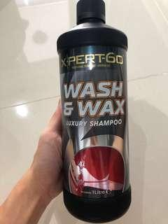 Xpert-60 Wash & Wax Luxury Shampoo for Car (Made in England)