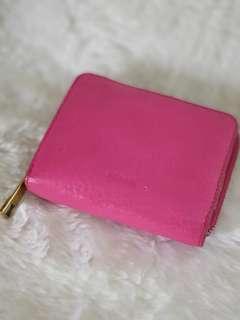 Fossil wallet emma mini multi hot pink