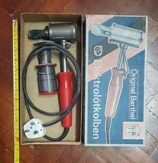 Soldering iron for larger parts