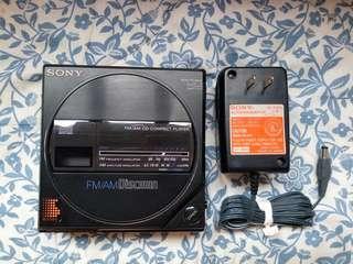 Sony d-50mkii d-77 radio discman cd player cd機