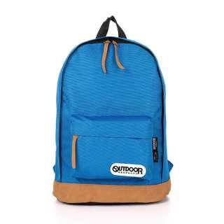 🚚 【OUTDOOR】復古學院-13吋電腦後背包-土耳其藍
