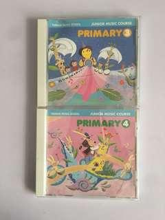 Yamaha primary 3 & 4 cd