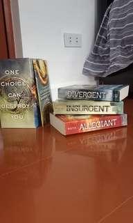 PRE-LOVED BOOKS: The Divergent Series