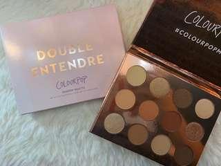 "Colourpop ""Double Entendre"" Eyeshadow Palette"