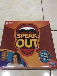 SPEAK OUT BOARD GAME NEW