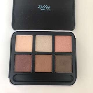 Korean Eye Shadow Palette Toffee Eyes