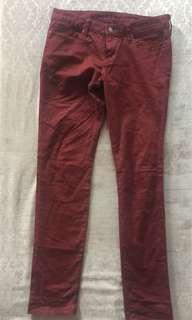 Uniqlo Jeans Red