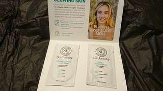 Skin Laundry Gentle Foaming Face Wash 2ml + 3 in 1 Cleansing Oil 2ml