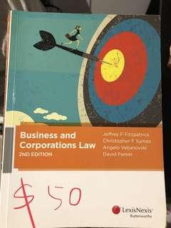 Business and Corporations Law Book