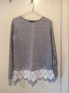 Dorothy Perkins Grey Sweater