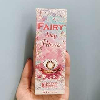 Fairy 1 day 10 lenses 0度