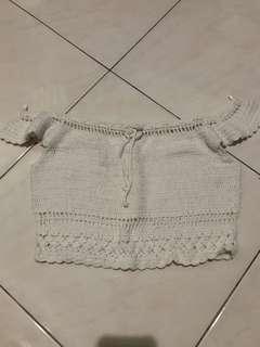 crochet summer beach top