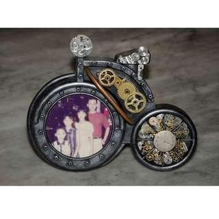 Steampunk Hand Crafted Photo Frame