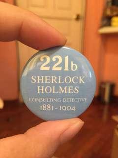 Authentic Sherlock Holmes Pin