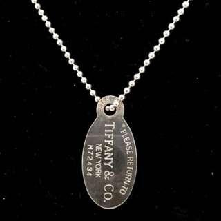 615d8f6bfa61 Tiffany   Co Return To Tiffany Oval Tag Beaded Necklace (New Year Promosi)